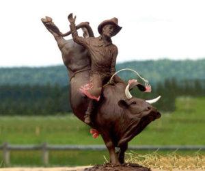 8 Seconds - Bronze Sculpture
