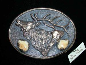 Rocky Mountain Elk - Bronze Sculpture