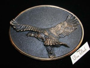 American Bald Eagle - Bronze Sculpture