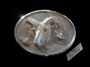 Rocky Mountain Bighorn Sheep - Bronze Sculpture
