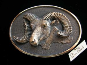 Rocky Mountain Bighorn Sheep - Bronze Sculpture