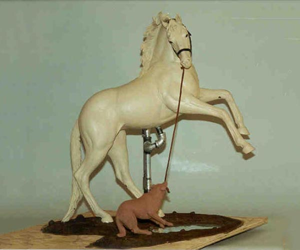 Equine Bronze sculpture