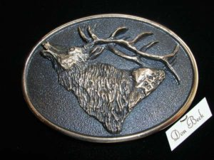 Rocky Mountain Elk - Bronze Sculpture