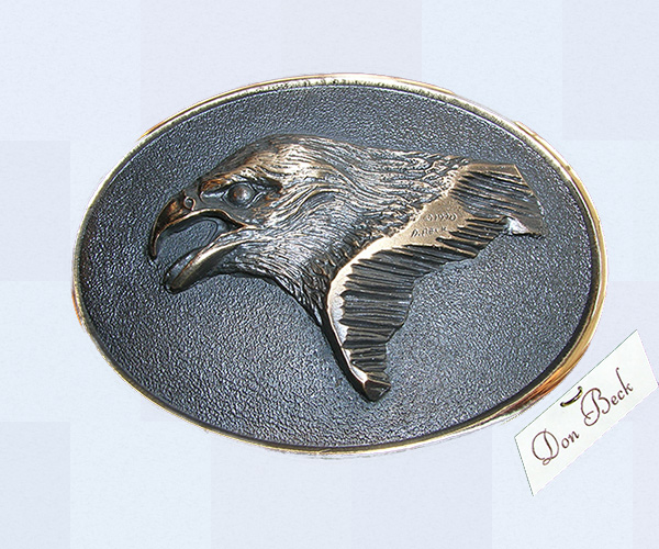Golden Eagle bronze sculpture