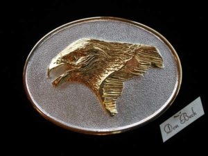 Golden Eagle - Bronze Sculpture