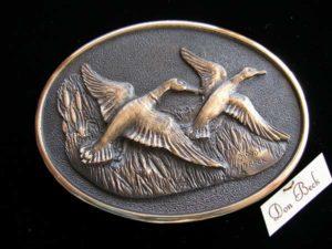 Mallard Ducks - Bronze Sculpture
