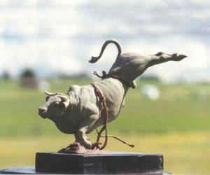 Maverick - Bronze Sculpture
