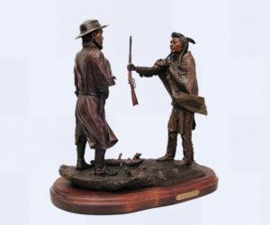 No More, Forever! - Bronze Sculpture