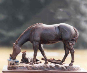 Spring Song - Bronze Sculpture