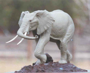 Vanishing Giants - Bronze Sculpture