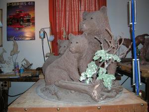 Protective Custody - Bronze Sculpture