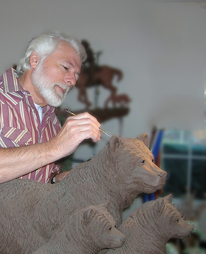 Bronze sculpture artist