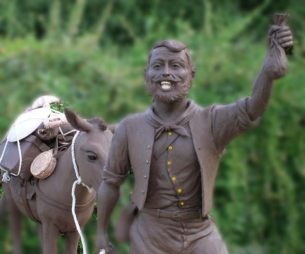 Historic mining bronzes