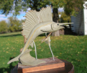 Free Sailing - Bronze Sculpture