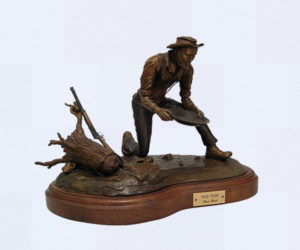 Gold Fever - Bronze Sculpture