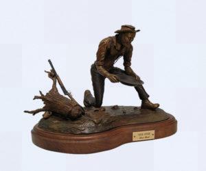 Gold Fever - Bronze Sculpture