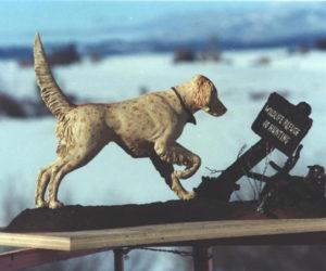 No Hunting - Bronze Sculpture