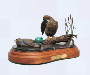 Reserved - Bronze Sculpture