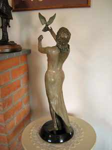 Spirit of Peace - Bronze Sculpture
