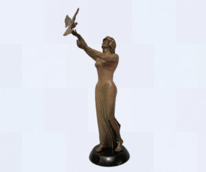 Spirit of Peace - Bronze Sculpture