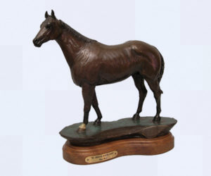 The American Quarter Horse - Bronze Sculpture