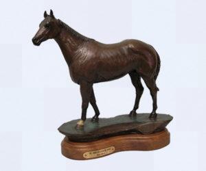 The American Quarter Horse - Bronze Sculpture