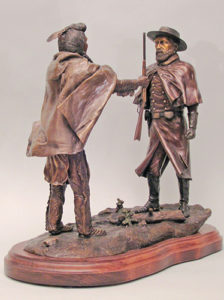 No More, Forever! - Bronze Sculpture